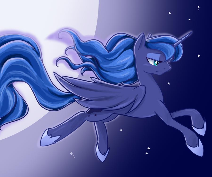 Princess Luna by U1fric