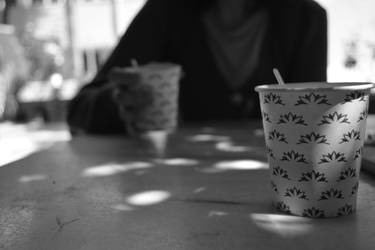 A cup of coffee together.