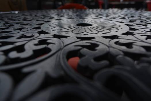 Shape of a metal