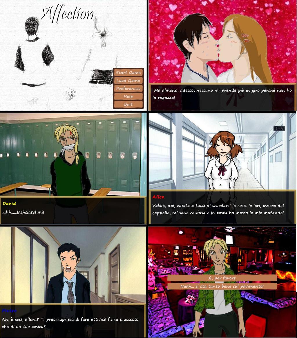 Affection Screenshots (Now translated!!)