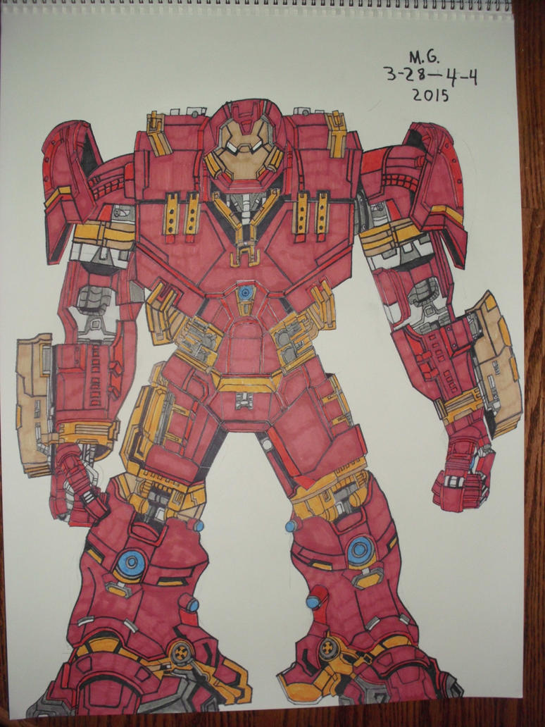 Iron Man Armor: Mark 44 (Hulkbuster) by Forceuser77 on ...