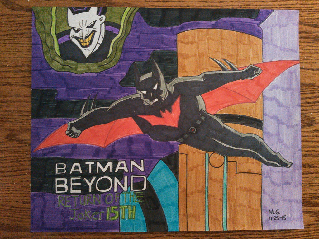Batman Beyond Return of The Joker 15TH Anniversary by Forceuser77