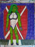 She-Hulk (Jessica Rabbit)