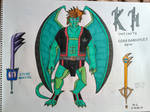 Kingdom Hearts Infinite: Sora Gargoyles Form by Forceuser77