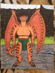 Savage the Raptor Gargoyle by Forceuser77