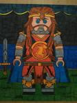 LEGO King Arthur from Gargoyles by Forceuser77