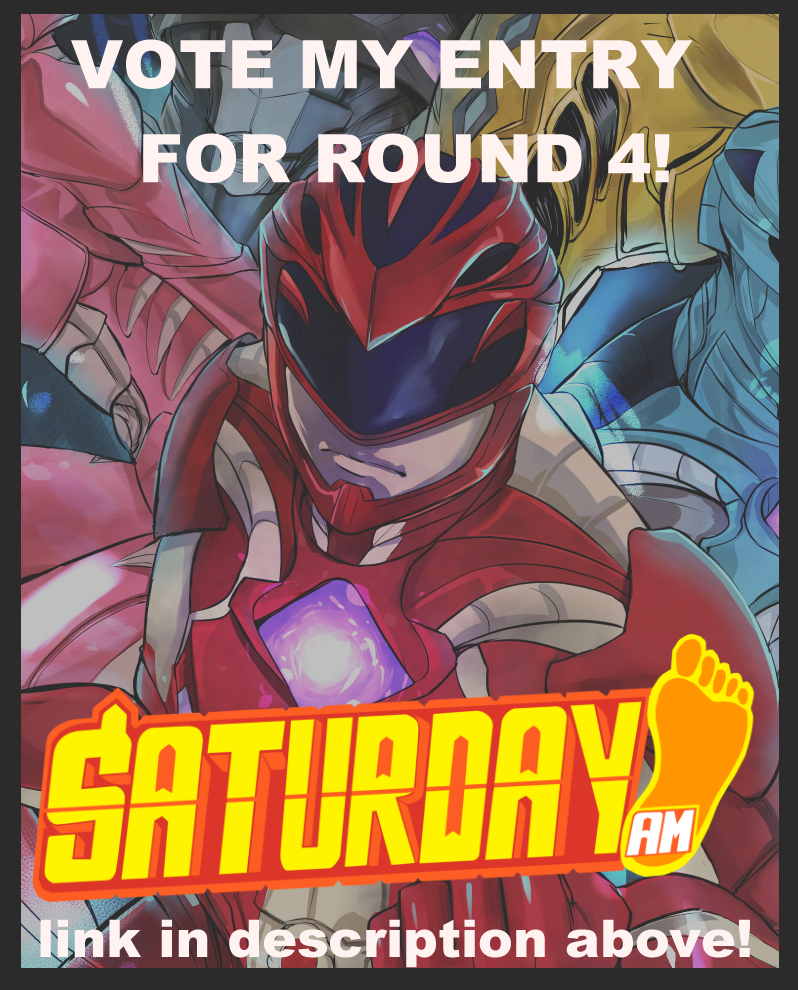 Round 4 Entry Power Rangers by gaoasmegu09