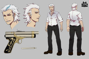 [COMMISSION] Ethan Reference sheets by gaoasmegu09