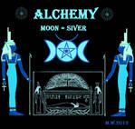 Egypt Alchemy goddess Isis Moon Silver pentagram