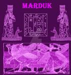 Seal of Marduk Ancient Arian God Necronomicon