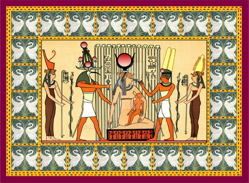 Isis Thot Horus Ancient Egypt Gods Printable By Mikewildt On Deviantart