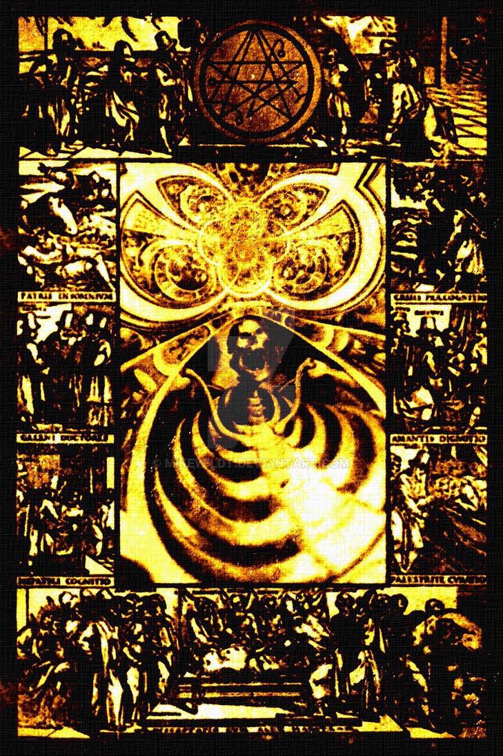 Dark Art Necronomicon style December special  by Mikewildt