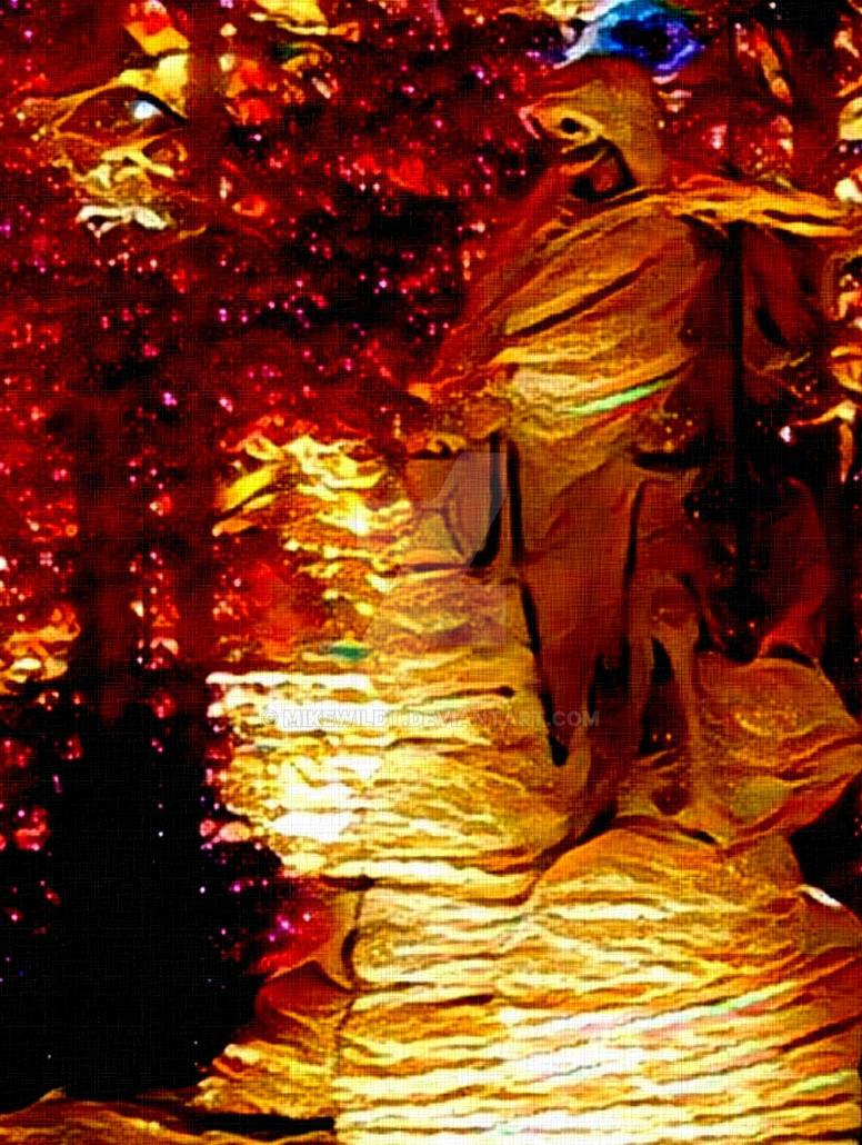 The cosmic dead lovecraftian horror art by Mikewildt