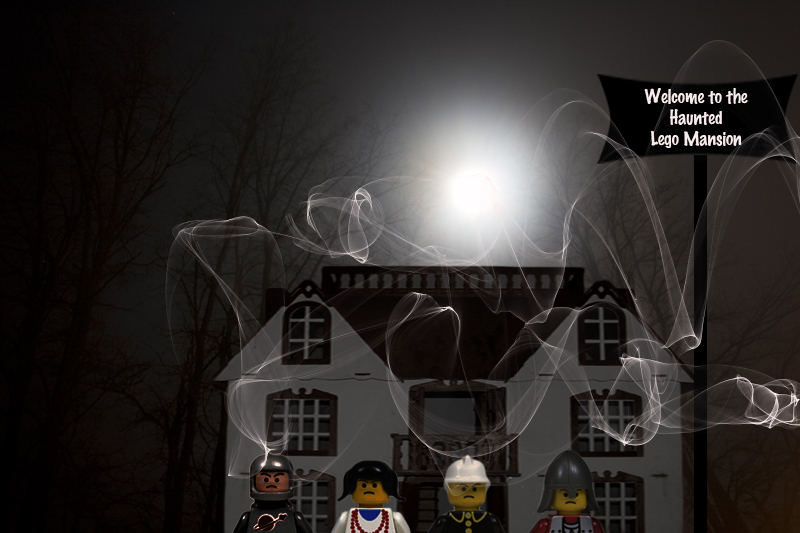 The Haunted Lego Mansion by 3punkins