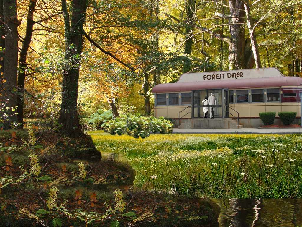 Forest Diner by 3punkins