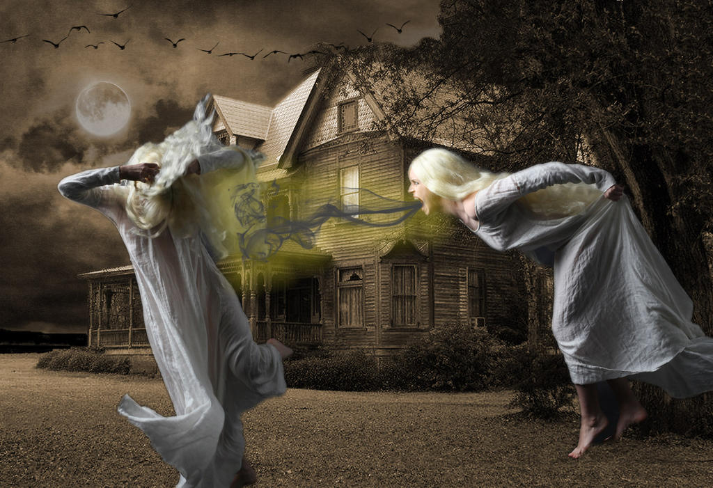 Ghost Fight by 3punkins