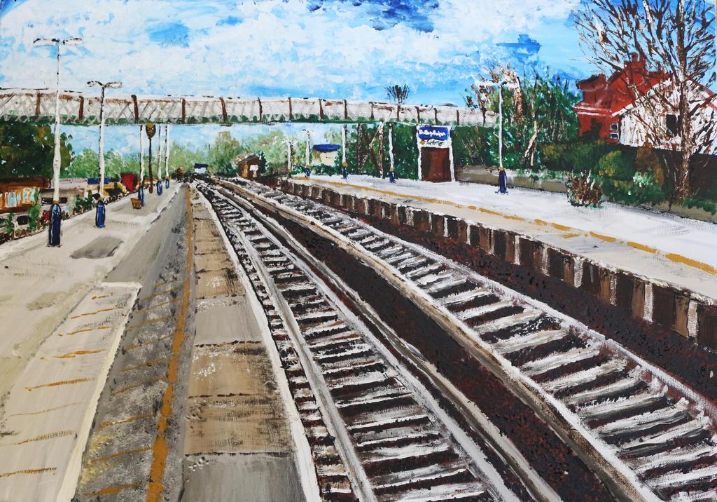 Brockenhurst Railway Station by phuonghn