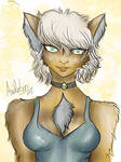Cute Cat Girl by Axidation