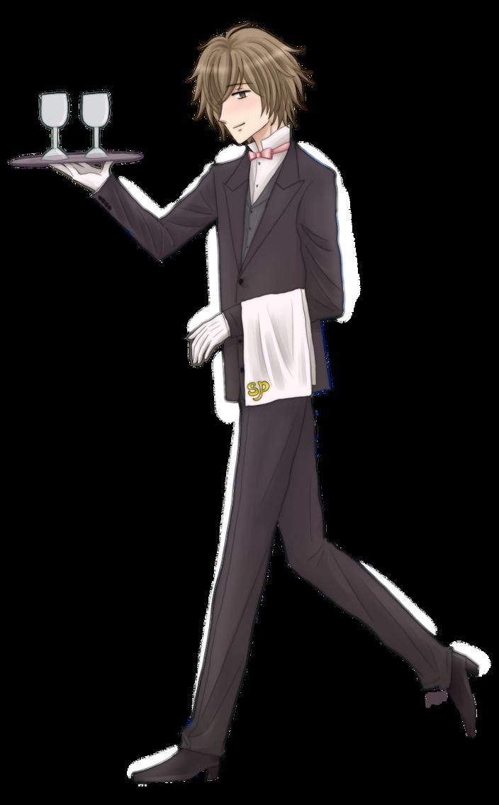 My Sweet Bodyguard: Butler Mizuki by fortykoubuns