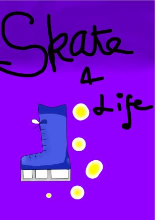 Skate 4 Life (manga cover) by AlyssumPetal