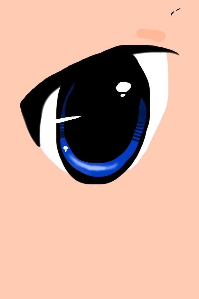 Anime eye by AlyssumPetal