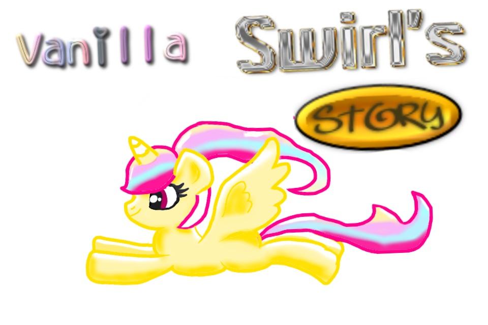 My pony OC Vanilla swirl by AlyssumPetal