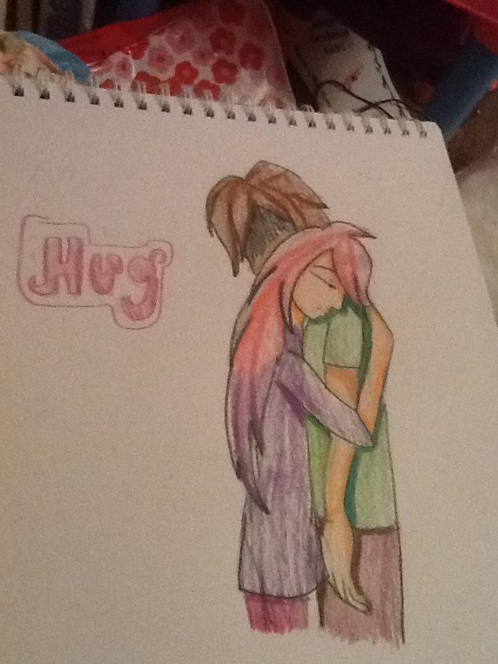 Hug~ Liu x ally by AlyssumPetal