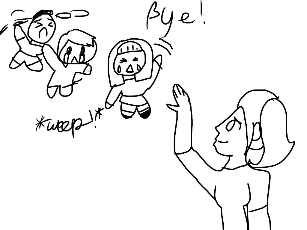I'm leaving... The anime fandom by AlyssumPetal