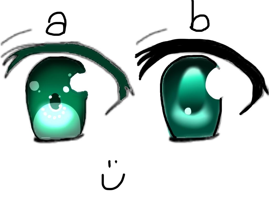 Please choose one, a or b by AlyssumPetal
