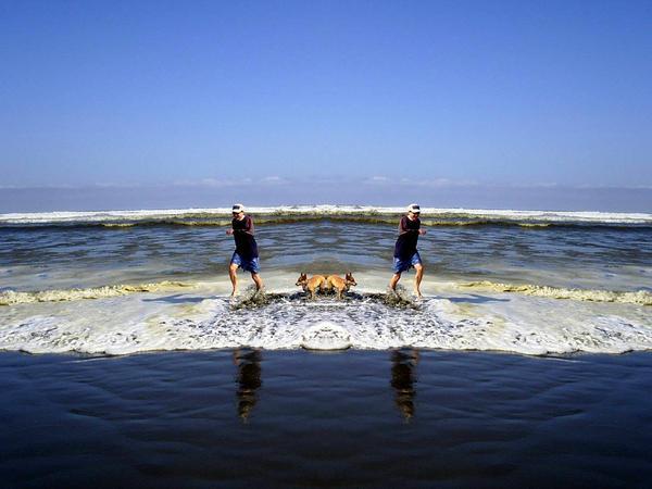 Surf's Up Mirror