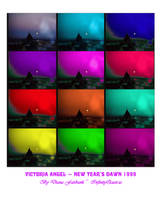 Victoria Angel Panes Poster by infin8yquest