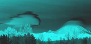 Mt. Rainier Ships - Chrome