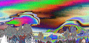 Mt. Rainier Ships-Psychedelic by infin8yquest