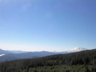 Mt. St. Helens and Spirit Lake by infin8yquest