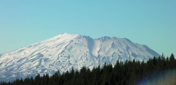Mt. St. Helens Closeup
