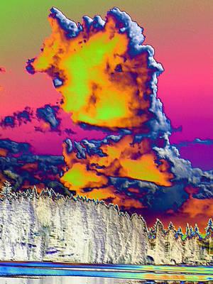 Lake Wilderness Clouds - Roseglow