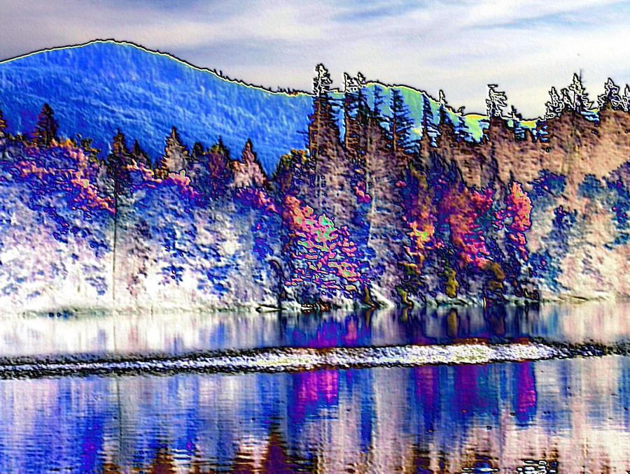 Deep Lake Liquid Mind