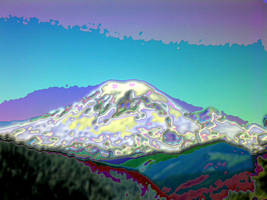 White Pass Rainier Enamel by infin8yquest