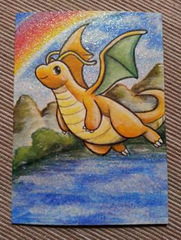 Dragonite aceo card