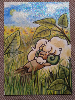 Whimsicott aceo card