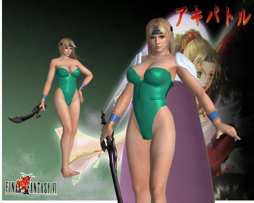 DOA5LR Final Fantasy VI Celes by SSPD077