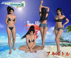 DOAX3 Momiji Tonkinese  by SSPD077 by SSPD077