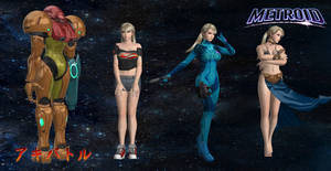 Samus Aran Revised by SSPD077 by SSPD077