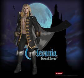 Castlevania Alucard 60% by SSPD077