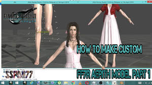 How to Make Custom FF7R Aerith Model part 1