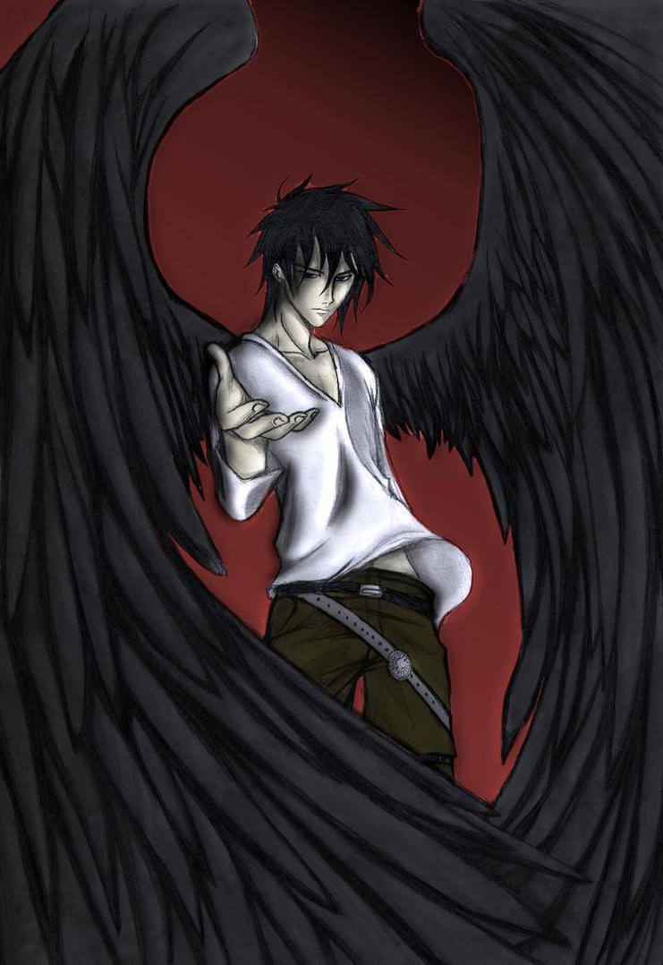 Another Dark Angel - Colored - Edit by satanX15