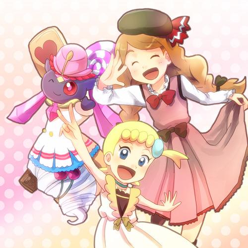 Pokemon - Chibi Clemont/Lem and Bonnie/Clem by SergiART on