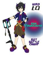 Hiro Kingdom Hearts by RoseThornArt