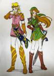 Genderbend Legend of Zelda  by RoseThornArt