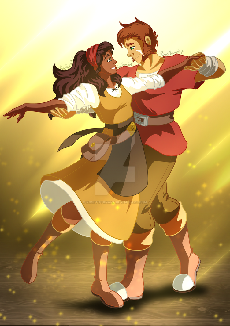 magnus and julia the adventure zone balance by rosethornart on